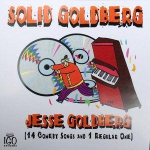 Jesse Goldberg - Solid Goldberg - Album Cover