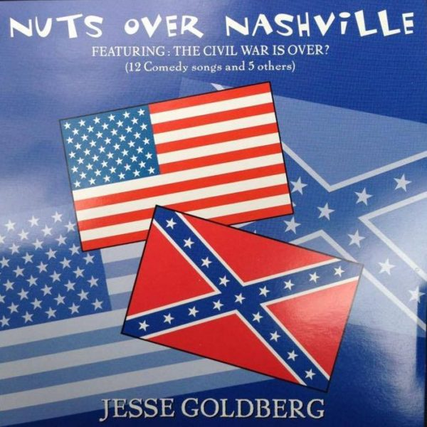 Jesse Goldberg - Nuts Over Nashville - Album Cover